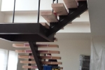 New Wooden Stairs